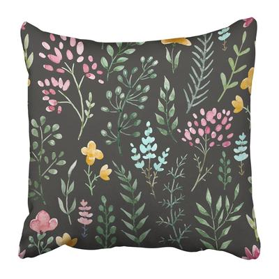 Pattern Of Chamomile Flowers Designs Upholstery Interior Curtains Floral Vintage Pillowcase 20x20inch 50x50cm Buy At A Low Prices On Joom E Commerce Platform