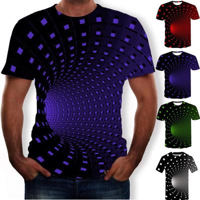 New Men/'s 3D Big Hand Print Round Neck Short Sleeve Funny Breathable T-Shirt 1pc