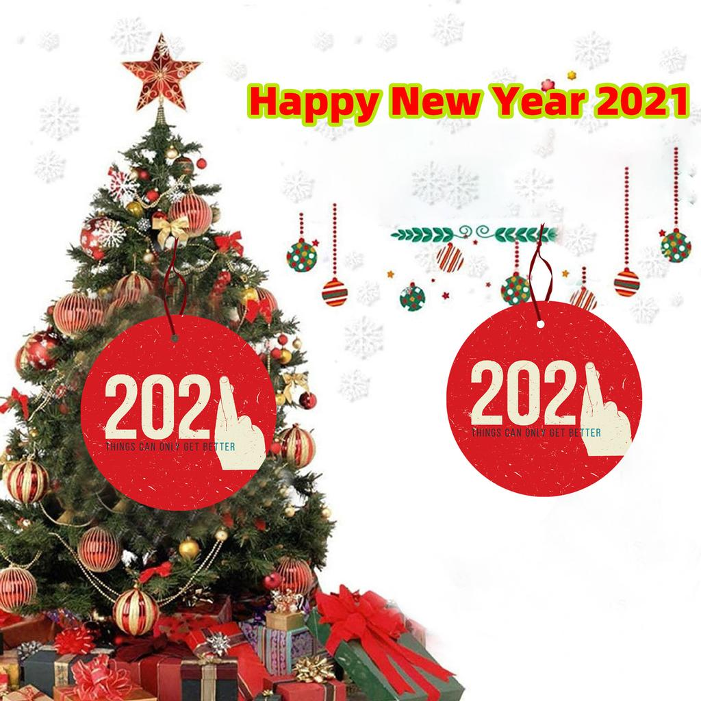 Things To Get For Christmas 2021 2021 Things Can Only Get Better Christmas Tree Hanging Ornaments Wooden Pendant Buy From 4 On Joom E Commerce Platform