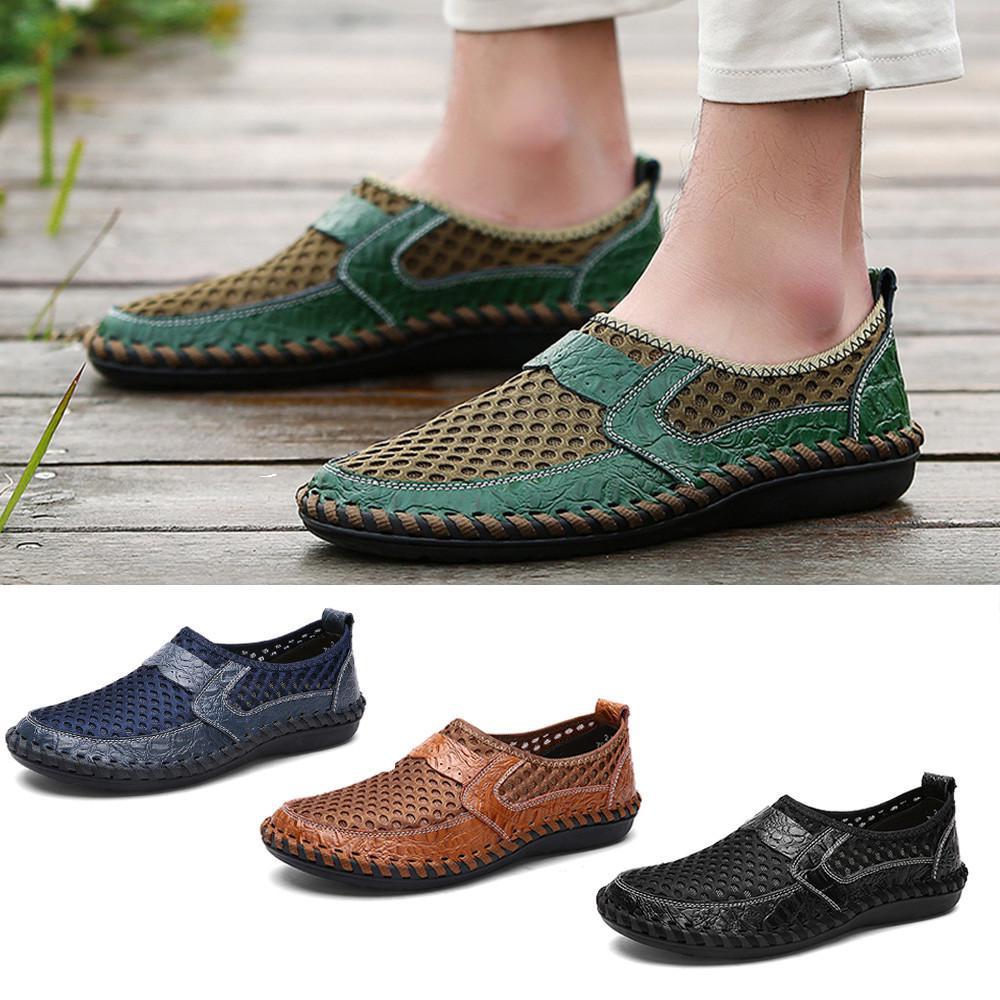 Дыхание мужчины Случайные волны сетки педали Slacker обувь гороха – купить по низким ценам в интернет-магазине Joom