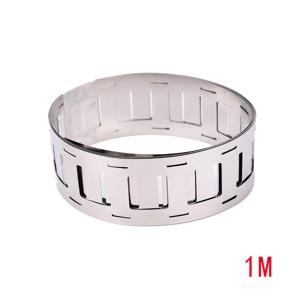 1M Ni Plated Nickel Strip Sheet Tape for Battery Pack Spot Welding New