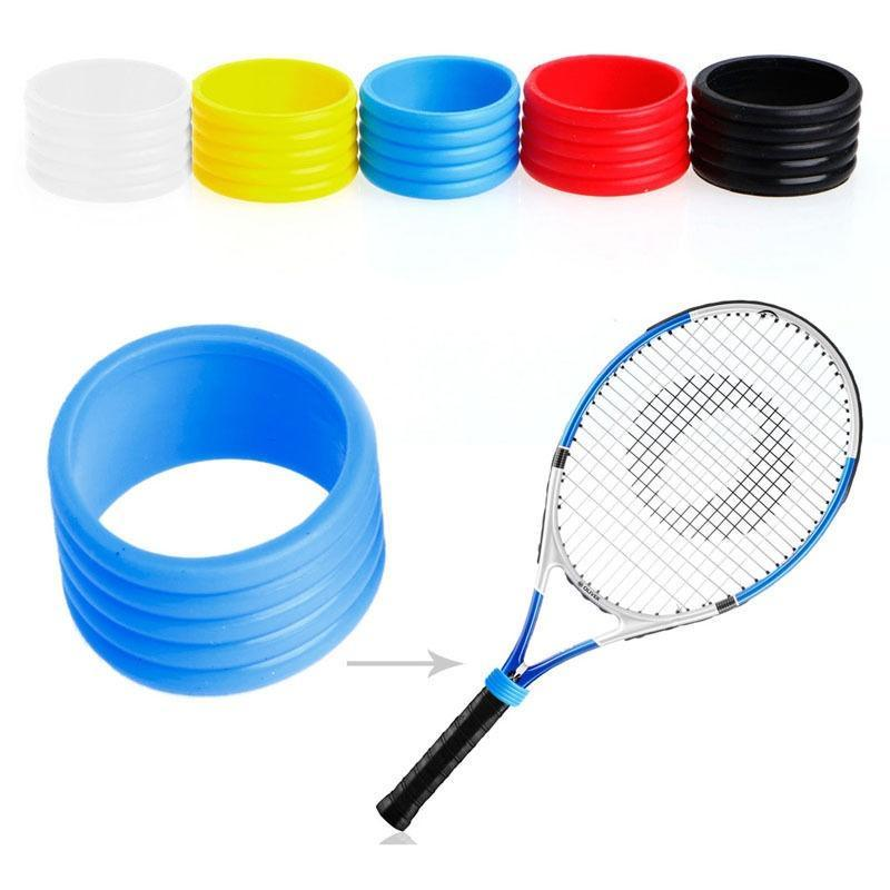 Tennis Racket Handle Rubber Ring Racquet Band Over Grips Protector  Individual