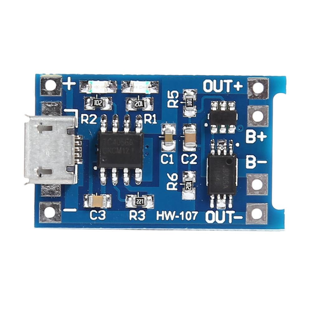 5Pcs 1s 3A PCB protection board for 3.7V 18650 Li-ion lithium battery solde UE