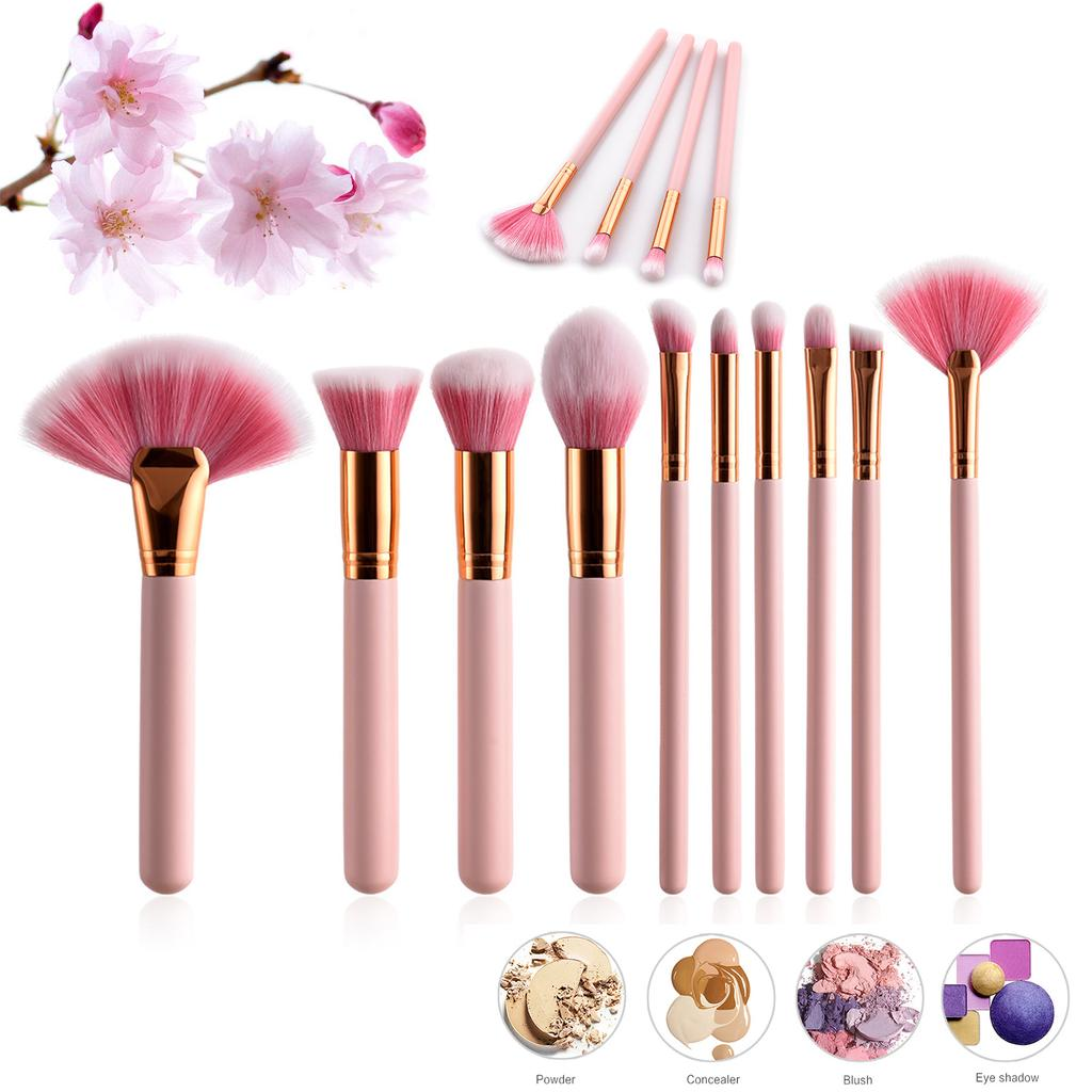 Vander Romantic Sakura Cosmetic Makeup Brush Set Tools Beauty Toiletry Kit