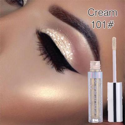 Metallic Diamond Pearly Watery Eyeshadow Sparkling Party Radiant Fashion Liquid Eyeshadow