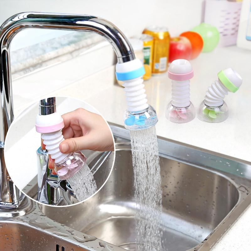 Kitchen Water Faucet Filter Sprinkler Head Splash Proof Water-saving Water I