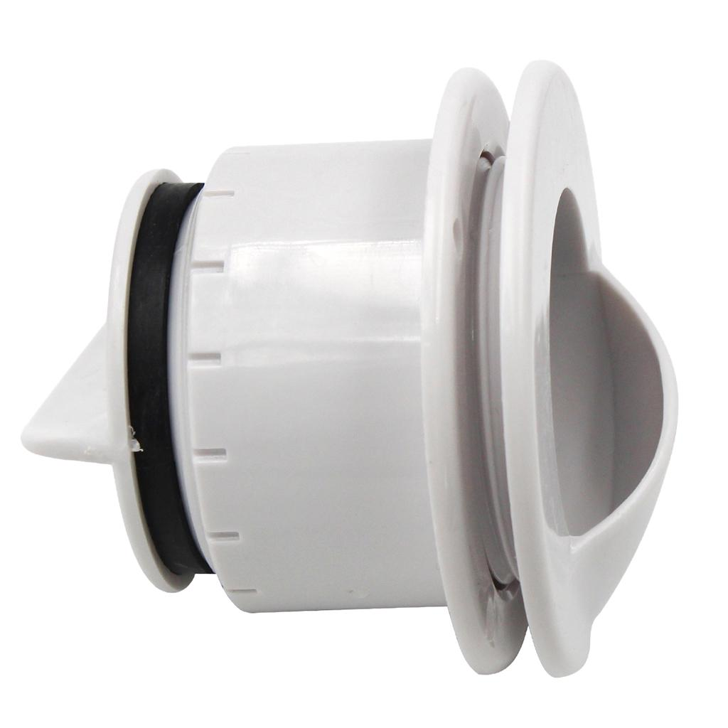 MARINE HARDWARE COCKPIT SCUPPER STAINLESS STEEL FITTING