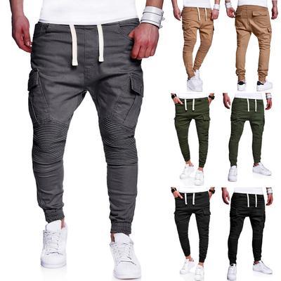 hommes Lashing décontractés pantalons de lâche Drawstring Sport de Camouflage