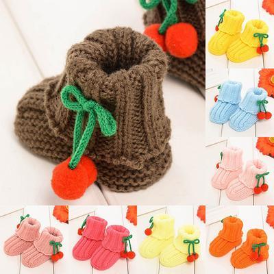 81fcc11ca best goods Newborn Baby Shoes Mini Autumn Non-slip Sweet Warm Cartoon  Toddler