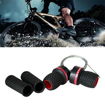 1 Pair Universal Mountain Bike Speed Shifter Bicycle Gear Shift Handles 21-Speed