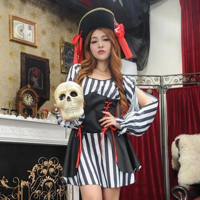 Women Buccaneer Costume Corsair Femme Outfit Hen Stag Fancy Dress Party Suit 4062499ff6c2