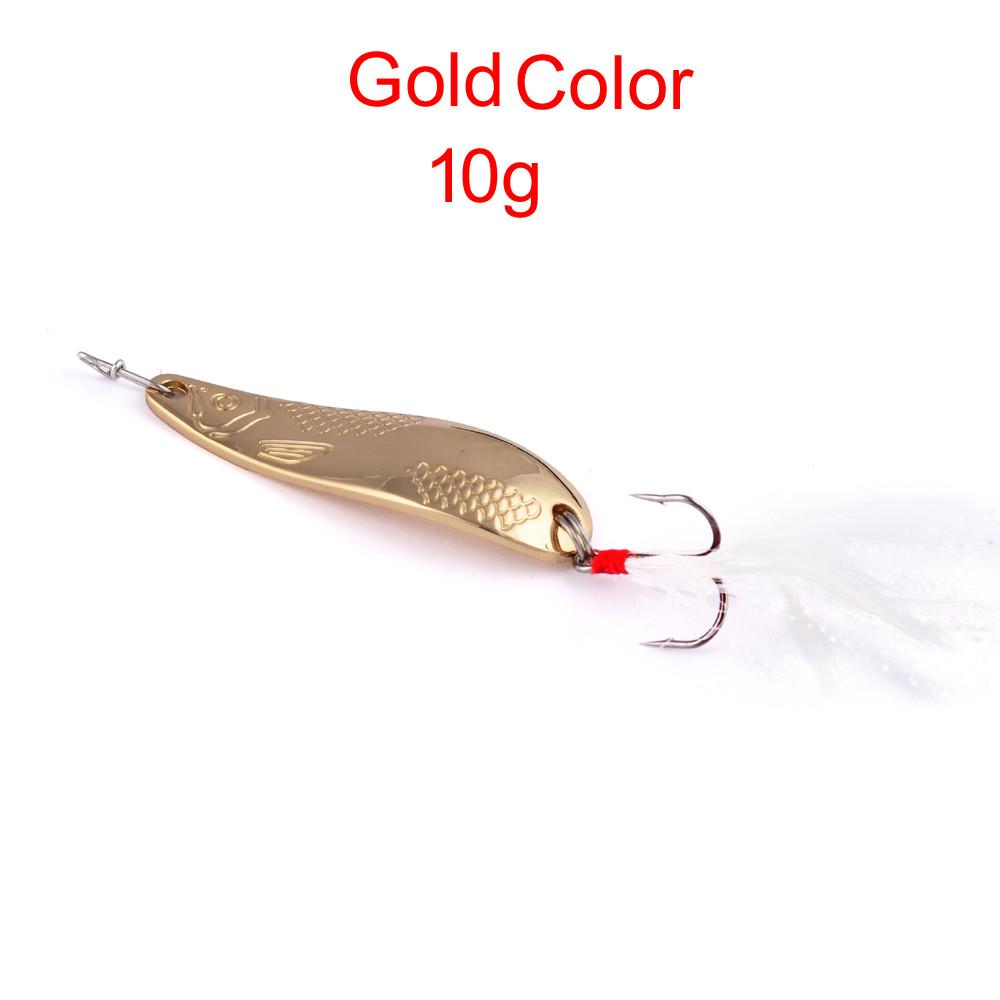 3Pcs Weighted Fishing Crank Barbed Lead Offset Lure Hooks with Spoon Tackle
