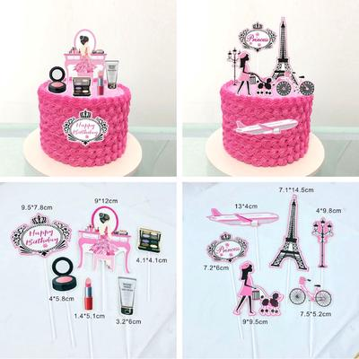 Makeup Cake Toppers At Affordable