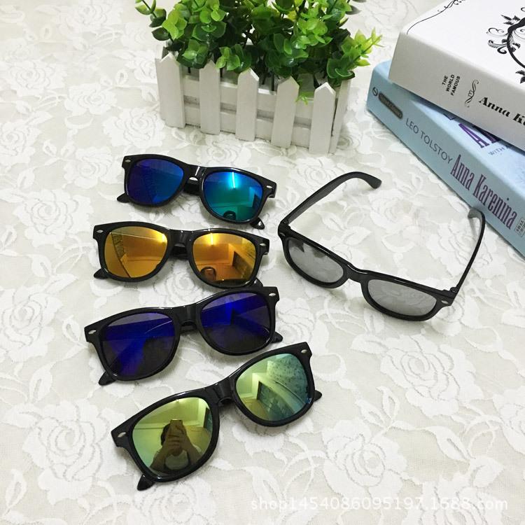 2016新款儿童米丁墨镜 儿童防紫外线太阳镜 男女童女孩眼镜 特价