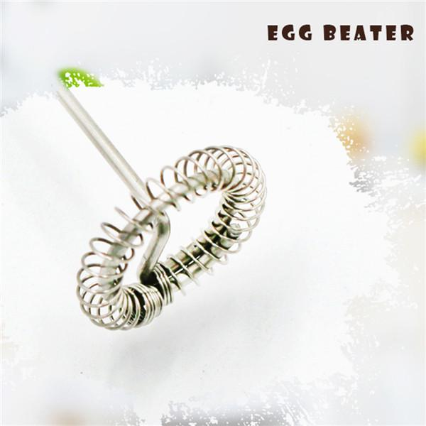 1pc Milk Drink Coffee Whisk Mixer Electric Egg Beater Frother Foamer Mini Handle