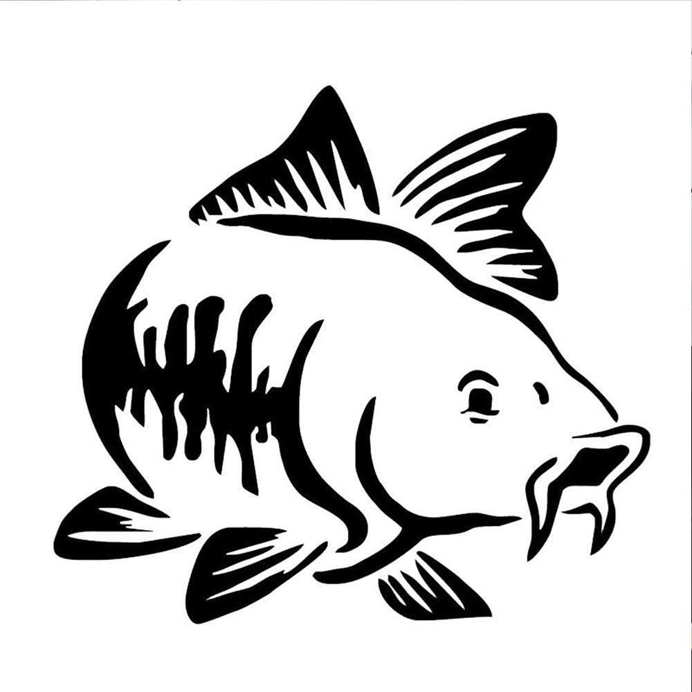 Carp//Fishing//Sticker//Decal-Set of 3