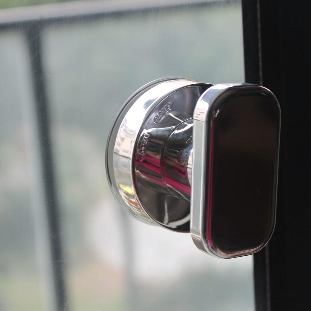 Door Refrigerator Drawers Suction Cup Handrail Sucker Handle Silver S