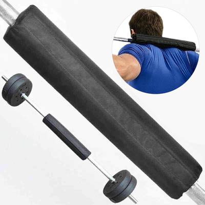 Foam Barbell Bar Rest Pad for Squat Weight Lifting Back Shoulder Olympic Bar Red