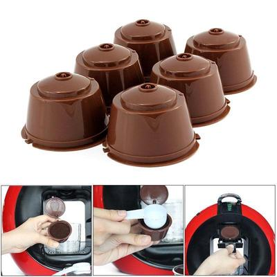 Dolce Gusto Reusable Coffee Capsules Refillable Coffee Filter Cup