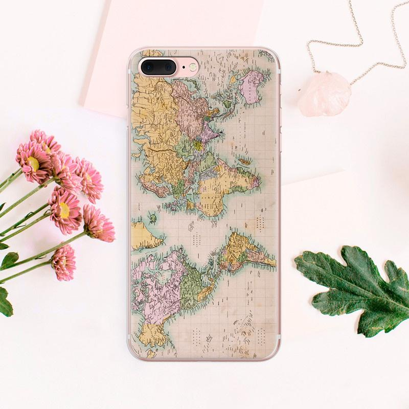 World Map Travel iPhone Case SE Phone 5s iPhone Case 6 Plus iPhone Case Phone iPhone Case 6s Plus-buy at a low prices on Joom e-commerce platform
