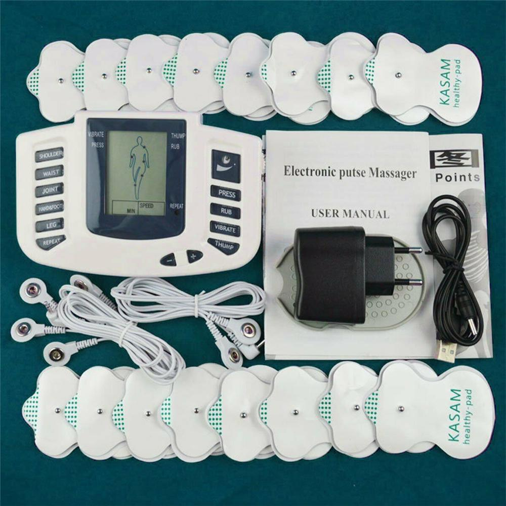 Массажер Unit Tens, цифровой обезболивающий, Акупунктурные подушечки, машинный массаж (без батарей) – купить по низким ценам в интернет-магазине Joom