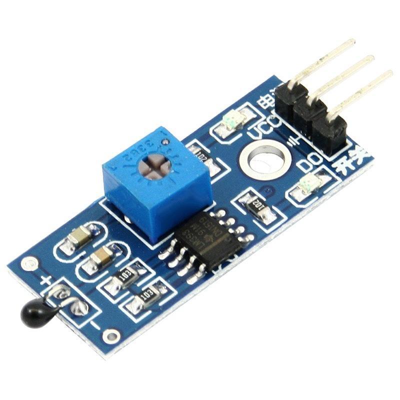 2PCS DC 3.3-5V LM393 Light Detection 3 Pins 1 Channel Photo Diode Sensor Module