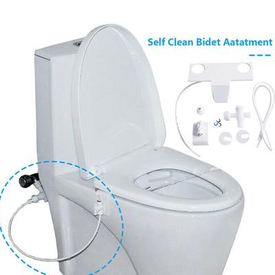 Non Electric Bidet Attachment Toilet Bidet Seat Self Cleaning Brush Nozzle Fresh Water Bidet Sprayer Connector Buy At A Low Prices On Joom E Commerce Platform