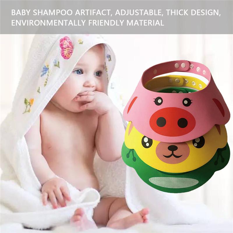 Bath Cheap Price 1pc Children Baby Bath Shower Head Protect Shampoo Shower Water Resist Adjustable Cap For Washing
