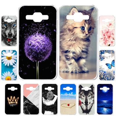 Akabeila Cases for Samsung Galaxy J1 2016 J120F Galaxy Express3 SM-J120 Cover Painted Case Phone Bag