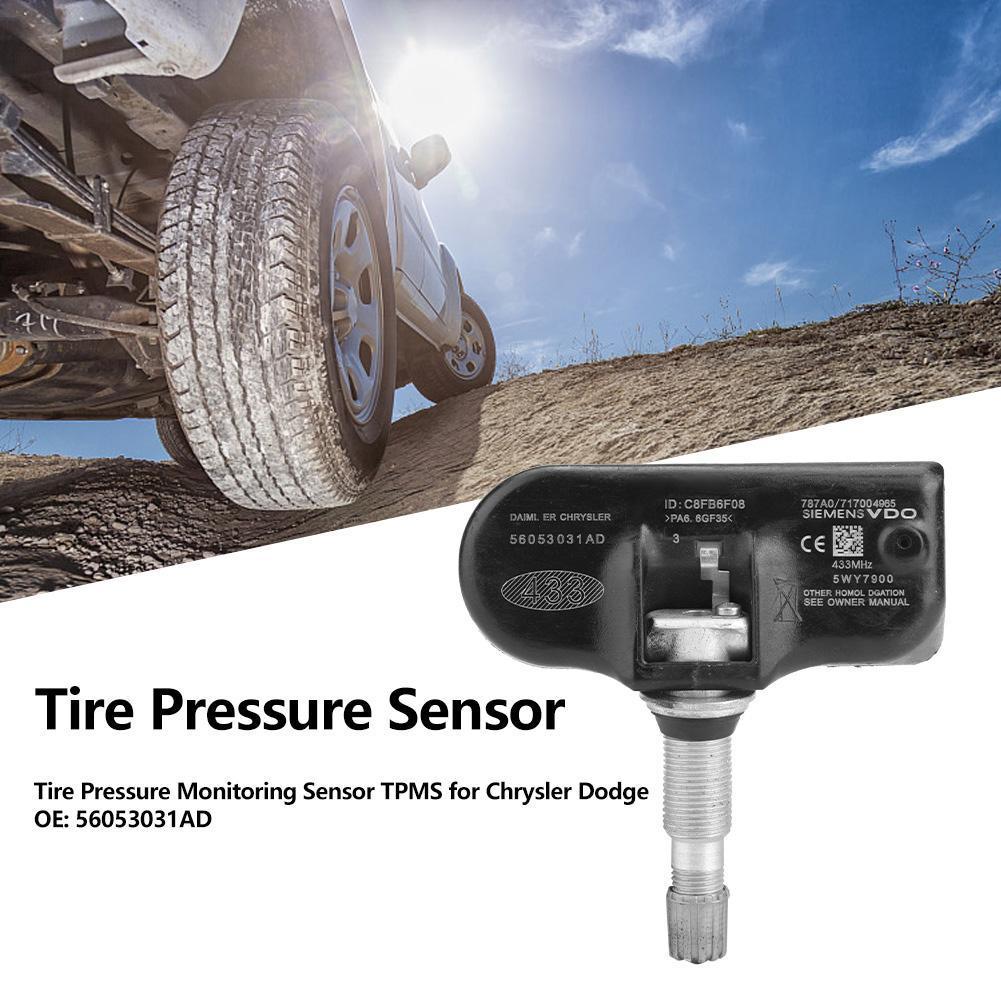 4Pcs Tire Pressure Monitoring Sensor TPMS for Chrysler Dodge Jeep OE 56053031AD