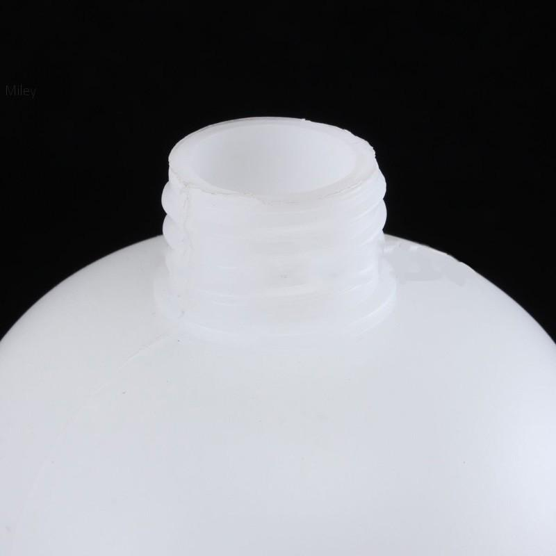 1pc 1L Plastic Pressure Washer Snow Foam Lance Sprayer Empty Bottles White