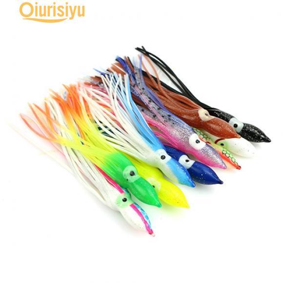 20pcs High Quality PVC Artificial Octopus Squid Soft Fishing Lures Bait 5-16cm