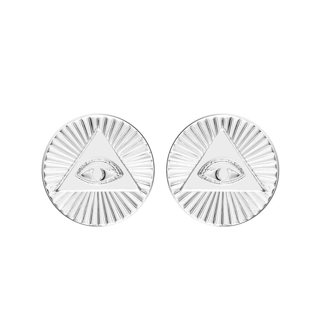 Seeing Eye Earrings  Eye Earrings  Silver Statement Earrings  Seeing Eye Earrings  Aspen Glow Studio