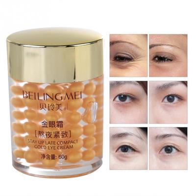 60g Firming Gold Eye Cream Remove Dark Circles Eye Bags