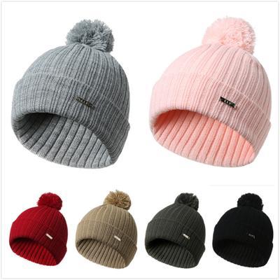 Hombres mujeres Unisex moda caliente holgado Crochet lana invierno esquí  cráneo Slouchy tapas gorro de punto 76fdab8b1b9