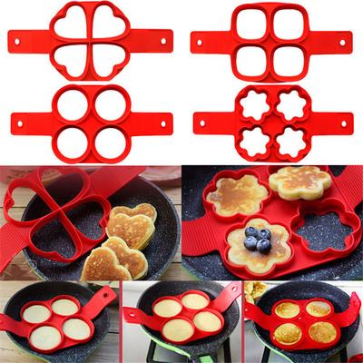 INOX CUISINE OEUF Fry Friteuse frites four Braconnier Pancake moule outil de bague