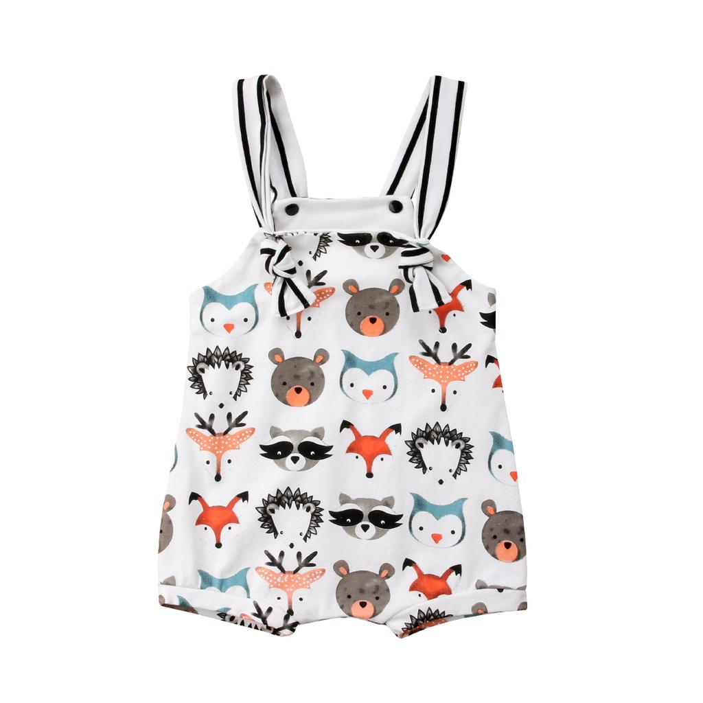 Newborn Kid Baby Girl Cute Animal Print Clothes Jumpsuit Anime Bodysuit  Summer Outfits-buy at a low prices on Joom e-commerce platform b5ec2bbeb