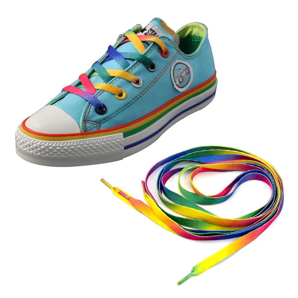 Black Flat Shoelace 110cm Athletic Sport Sneakers Shoelaces Shoe laces