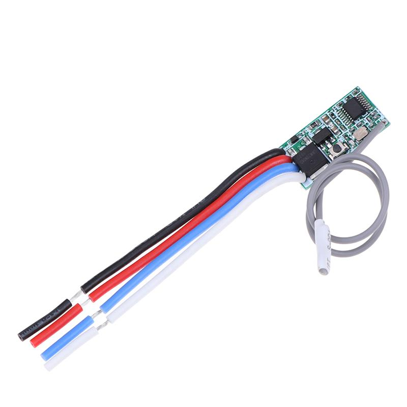 433Mhz 1CH RF Relay Receiver Wireless Remote Control Light Switch Micro ModuHFUK