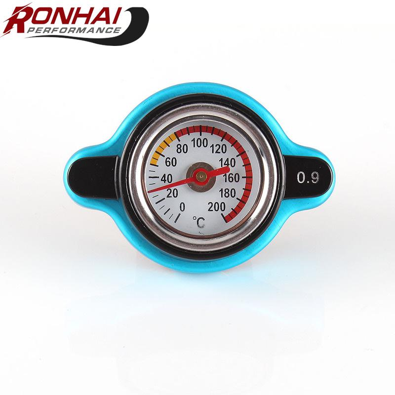 Universal Big Head Temperature Gauge with Thermo Radiator Cap Tank Cover 1.1Bar