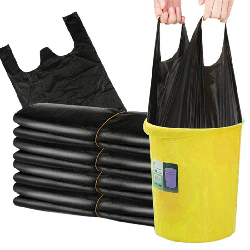 50pcs Черный Мусор мешки Сильный Вест Стиль Кухня Кухня Корзина Хранение мешок для домашнего офиса отходов корзины мешки – купить по низким ценам в интернет-магазине Joom