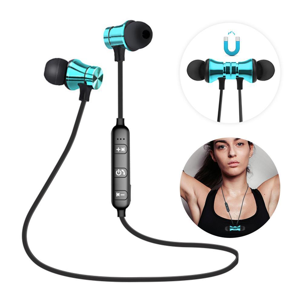 Bluetooth Earphone Спортивные наушники Беспроводные наушники Магнитная гарнитура с микрофоном фото