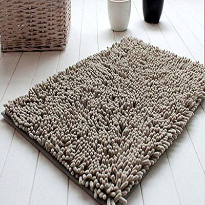 Home Living Soft Shaggy Non Slip Absorbent Bath Mat Shower Rugs Carpet