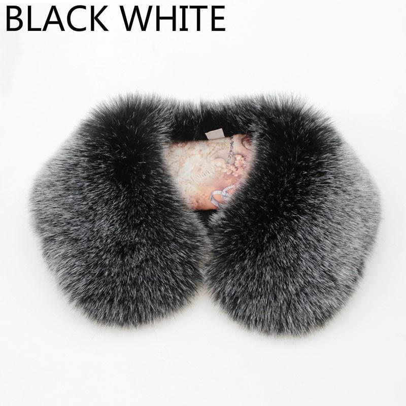 Winter Scarf Shawl Wrap For Coat Sweater Down Jacket Neck Warmer Fluffy Furry
