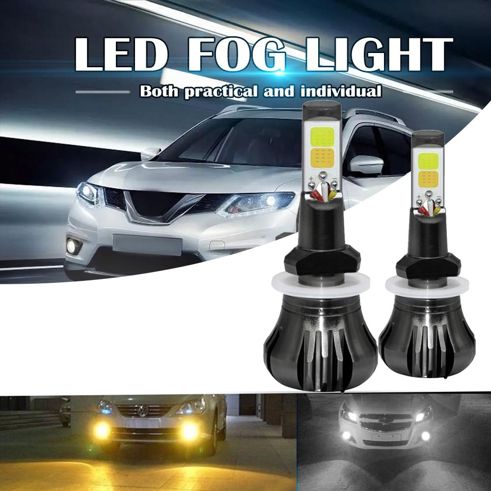 160w 880 881 Led Fog Light Bulbs 3000k Yellow 6000k White Colors Strobe Lamp Bulb Cob Bulb Kit Buy From 12 On Joom E Commerce Platform