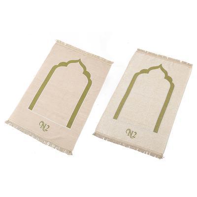 Chenille Muslim Prayer Worship Carpet