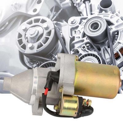 Permanent Magnet Deceleration 12V 0 4KW Gasoline Engine Starter Electric  Motor Inverse Rotation
