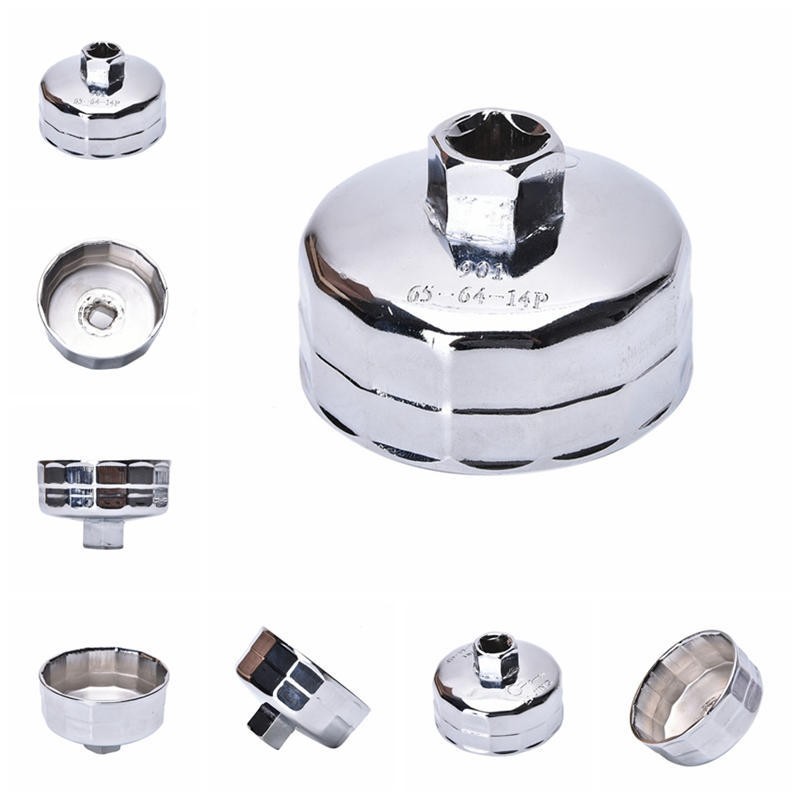 Inner Diameter 65mm Cap Oil Filter Stainless steel Wrench Special Disassembly Oil Filter Housing Tool 901 Remover Cap Wrench