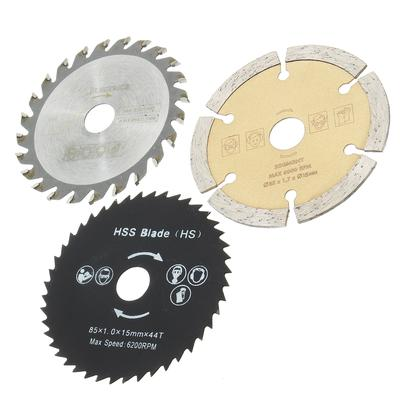 2pc HSS Circular Saw Blade Rotary Cutting Disc For Woodworking