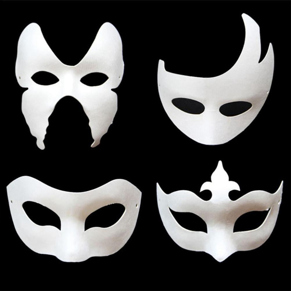 6x Masquerade Party Eye Mask Christmas Carnival Dancing Party Halloween Supplies